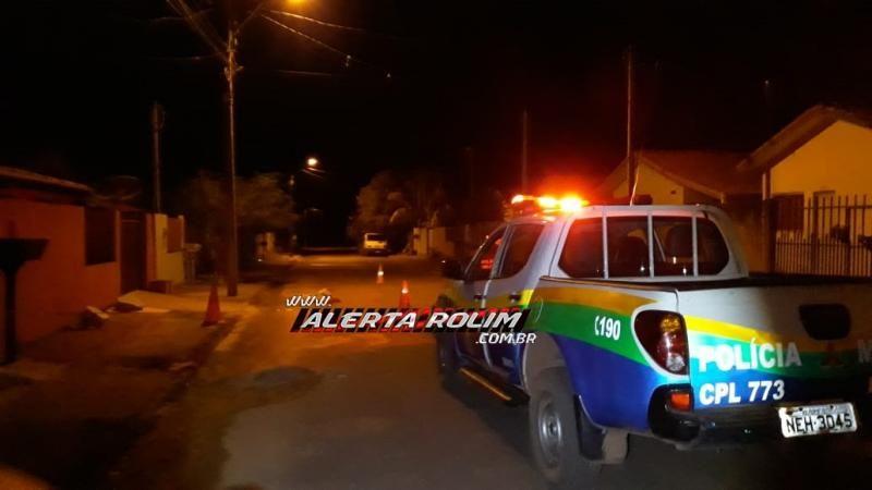 Urgente – Homem é morto a facada durante a madrugada em Rolim de Moura