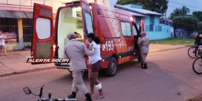 Rolim de Moura – Mais um acidente de trânsito com vítima é registrado nessa sexta-feira