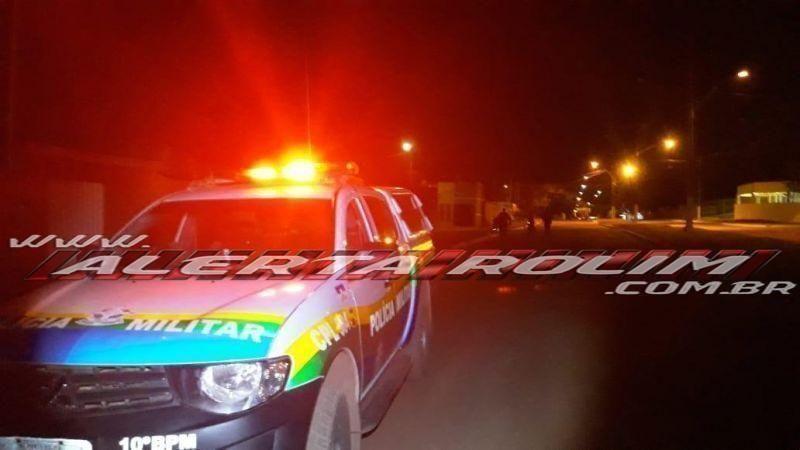 Rolim de Moura – Usuário de drogas é detido pela PM tentando furtar combustível no pátio da secretaria de obras