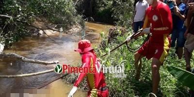 Após três dias de buscas, corpo de homem que havia desaparecido no rio Arara  é encontrado, em Primavera de Rondônia