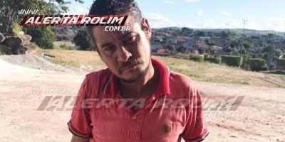 Acusado de matar andarilho em Rolim de Moura é preso pela Polícia Militar, em Santa Luzia do Oeste