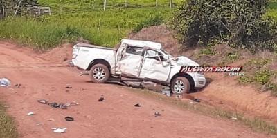 Urgente - Casal morre em grave acidente de trânsito, na área rural de Castanheiras