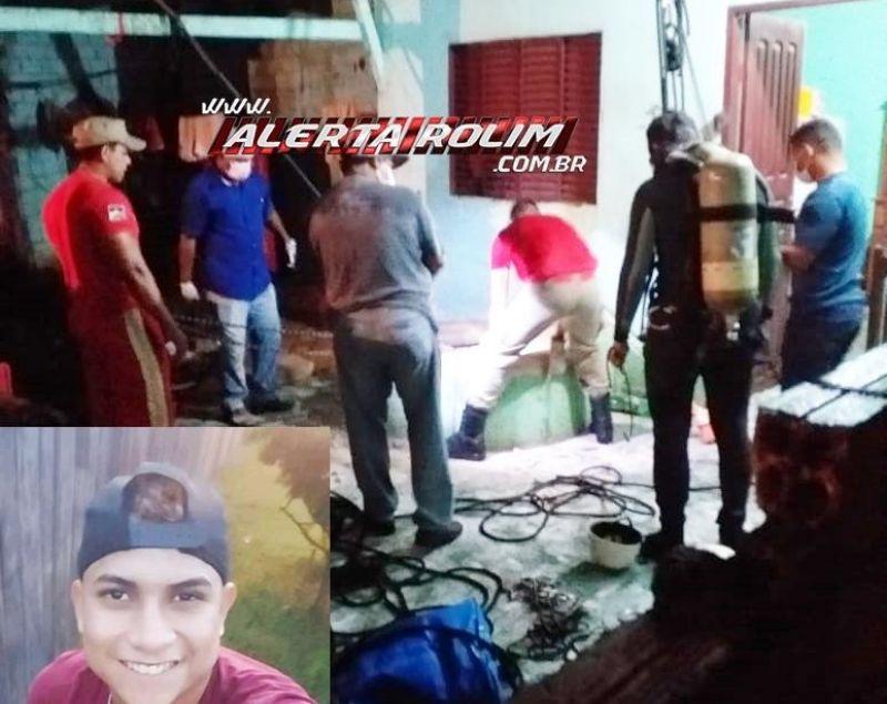 Jovem que estava desaparecido desde o último sábado é encontrado morto dentro de poço, em Costa Marques