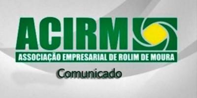 Convocação da Associação Empresarial de Rolim de Moura para a Eleição da nova Diretoria; gestão 2020-2023