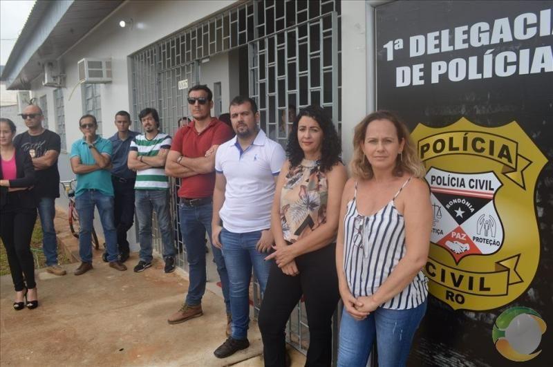 Delegacia da Policia Civil é reinaugurada em Alta Floresta D´Oeste - Vídeo