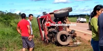 Irmãos, de 04 e 12 anos, morrem em grave acidente na BR-364, em Porto Velho