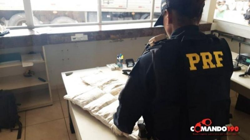 PRF prende duas passageiras de ônibus  com mais de 13 quilos de cocaína junto ao corpo, em Ji-Paraná