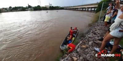 Homem desaparece após nadar nas águas do rio Machado, em Ji-Paraná - VÍDEO
