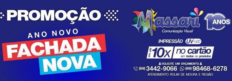 Massari completa 10 anos em Rolim de Moura e lança uma superpromoção; veja o vídeo promocional