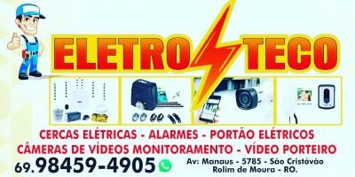 Procurando mais segurança para sua residência ou empresa? Conte com os serviços da Eletroteco em Rolim de Moura e região - Vídeo
