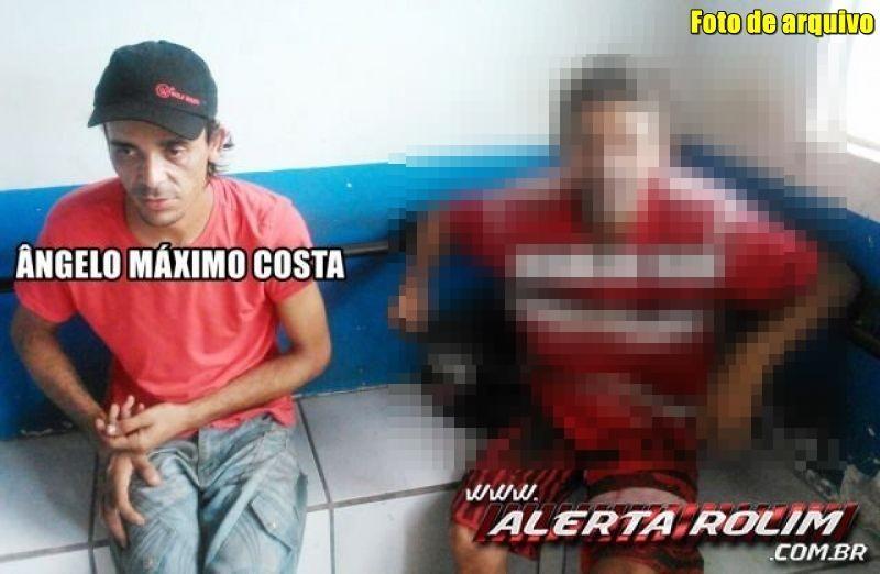 Rolim de Moura – Acusado de furto é preso pela PM em cumprimento a Mandado de Prisão