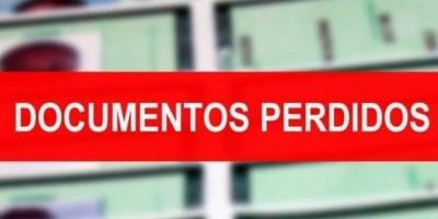 Rolim de Moura - Documentos perdidos em nome de Pedro Henrique da Silva