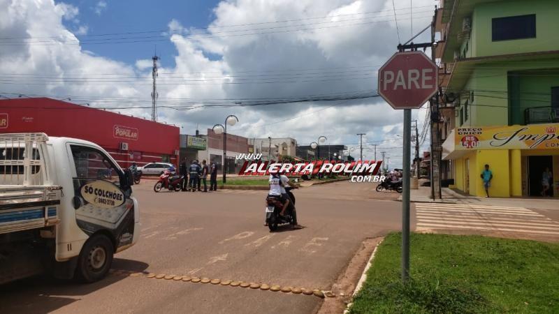 Rolim de Moura - Mais um acidente de trânsito é registrado nesta terça-feira – Vídeo