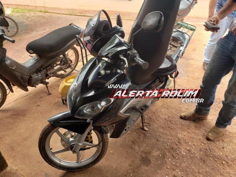 Rolim de Moura – Mulher é socorrida após bater moto em cachorro no Boa Esperança; Esse foi o segundo acidente envolvendo cachorro na via essa semana