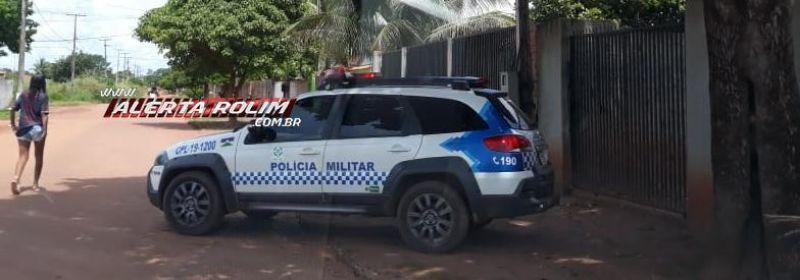 Rolim de Moura – URGENTE – Homem leva facada nas costas no Bairro Cidade Alta