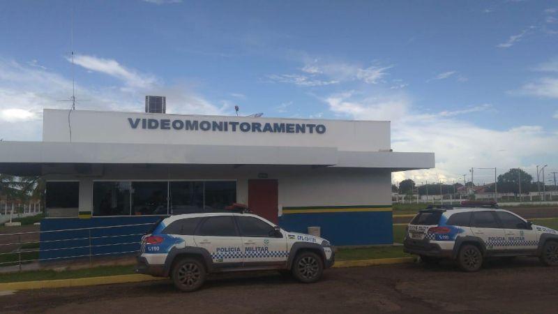 Videomonitoramento da Polícia Militar flagra furto de bicicleta em Pimenta Bueno