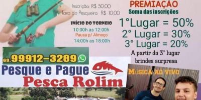 Amanhã será o primeiro festival de pesca feminino promovido pelo Pesca Rolim, em Rolim de Moura