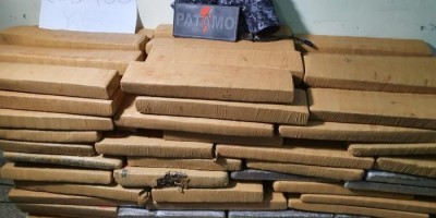 PM, PC e PRF apreendem mais de 200 quilos de maconha em Ji-Paraná