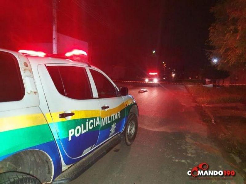 Homem é executado com dois tiros em plena via pública, em  Ji-Paraná
