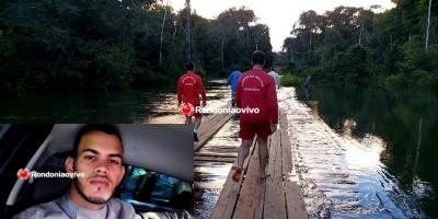 Eletricista de apenas 23 anos morre após caminhonete cair de ponte do rio das Garças, em Porto Velho - VÍDEO