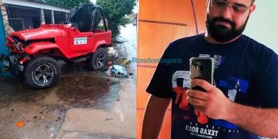 Jovem morre após capotar Toyota Bandeirantes, em Porto Velho