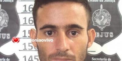Latrocida, acusado de roubo a banco e que atacou quartel da PM em Parecis, é preso pela PC, em Porto Velho