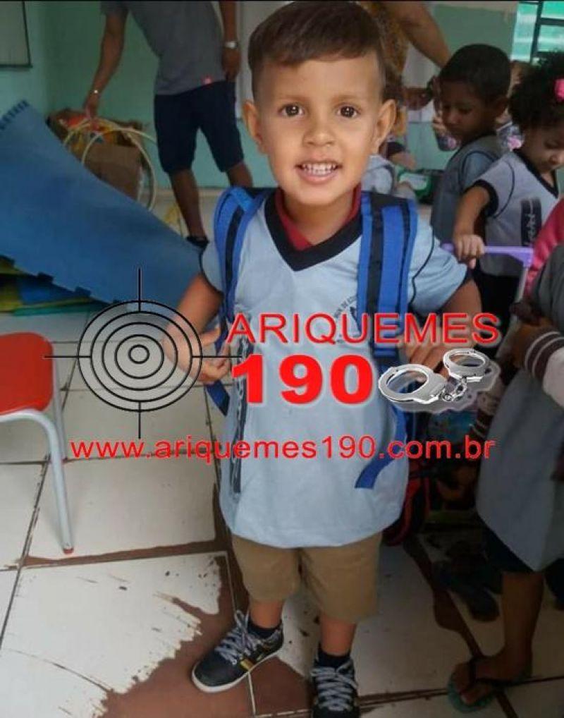 Menino, de 3 anos, cai em fossa e morre afogado, no Distrito Bom Futuro