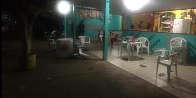 Três pessoas são mortas e uma criança baleada por homens encapuzados na noite de sexta-feira,13, em Monte Negro