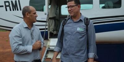 """Ressocialização - Através do projeto """"Construindo a Liberdade"""", do Governo de Rondônia, três escolas de Rolim de Moura são atendidas com mão de obra de detentos do Semiaberto"""