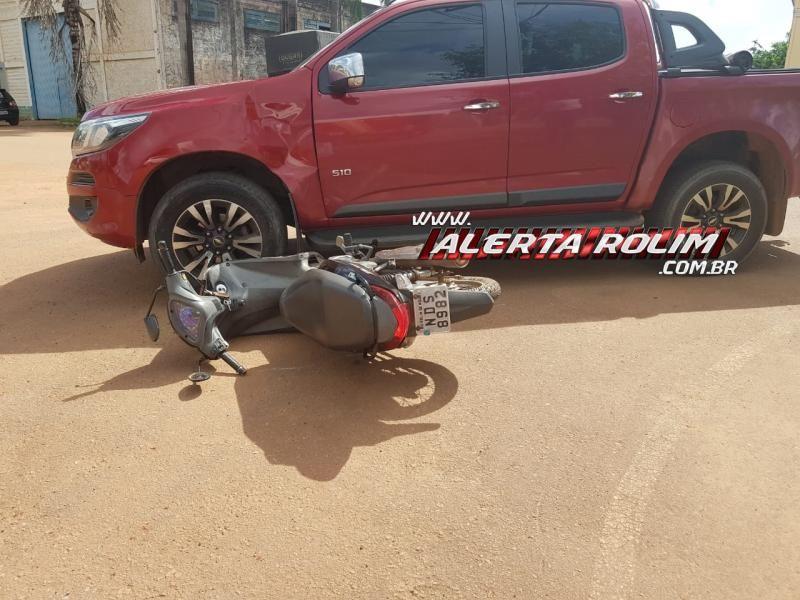 Rolim de Moura – Acidente de trânsito na Avenida Norte Sul resulta em uma pessoa ferida – Vídeo
