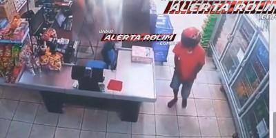 Rolim de Moura – Horas depois de roubar joalheria, dupla tenta cometer assalto em mercado no Boa Esperança; assista ao vídeo da tentativa