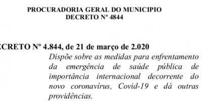 Rolim de Moura – Novo Decreto da Prefeitura Municipal limita quantidade de clientes em Supermercados e traz outras regras ao comércio em geral; confira na íntegra