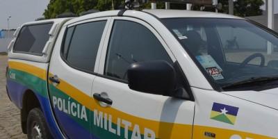 Sargento da PM persegue ladrão de moto mas é rendido e tem pistola roubada por foragido, em Porto Velho