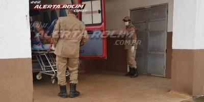 Urgente! Homem é esfaqueado no centro da cidade, em Rolim de Moura - Vídeo