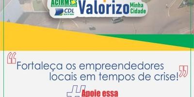 Acirm faz campanha para clientes comprarem no comércio local de Rolim de Moura