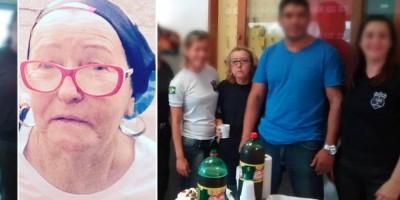 Agente penitenciária pioneira que seguiu trabalhando, mesmo com câncer, morre aos 70 anos, em Vilhena