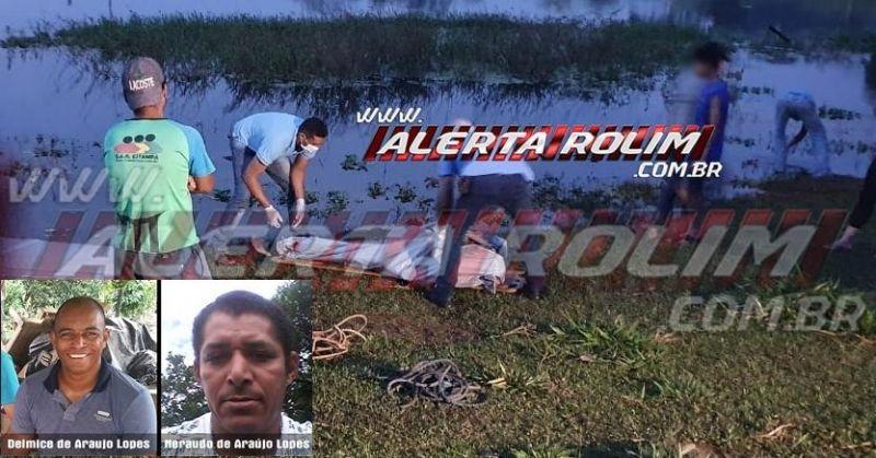 ATUALIZADA – Identificados os dois irmãos que morreram afogados na região de Alta Floresta do Oeste