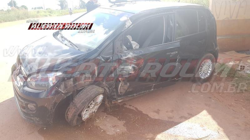 Devido a buracos na pista, mais um motorista se acidenta na RO-010 próximo a linha 192, em Rolim de Moura – Vídeo