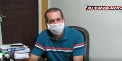 Em vídeo, Prefeito de Novo Horizonte diz que ainda não foi localizado o paciente contaminado com Coronavírus que fugiu do hospital