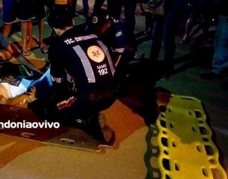 Jovem morre após levar 21 tiros em frente de residência, em Cujubim