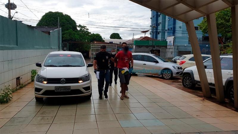 Motorista é preso acusado de estuprar a filha por mais de dois anos, em Porto Velho