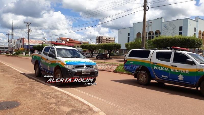 Rolim de Moura – Casal suspeito de envolvimento da tentativa de homicídio é apreendido pela PM