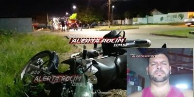 URGENTE – Motociclista que foi socorrido com traumatismo craniano após acidente de trânsito em Rolim de Moura, não resiste e morre em hospital de Cacoal
