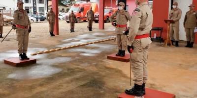 Corpo de Bombeiros de Rolim de Moura realiza solenidade de troca de comando; veja o vídeo