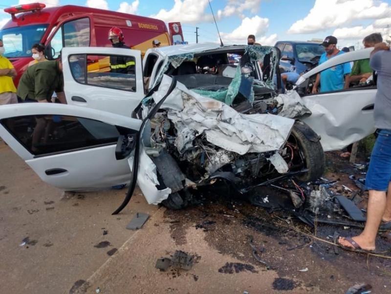 Acidente mata Pai,mãe e filhos pequenos, no Mato Grosso