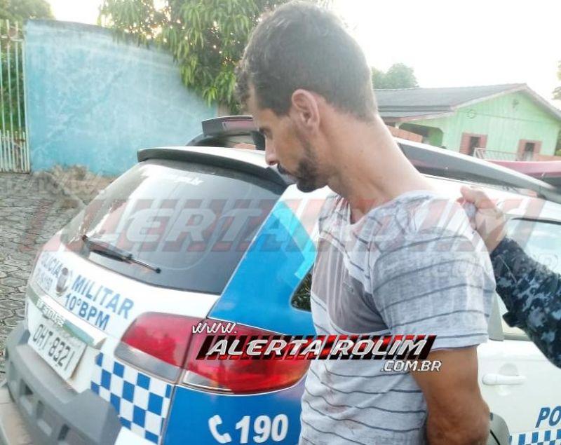 Após dois roubos seguidos, em Rolim de Moura, PM do 10º Batalhão age rápido e prende três suspeitos com arma de fogo e recupera produtos roubados