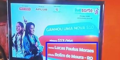 Caminhonete sorteada na live de Maiara & Maraisa sai para Rolim de Moura, veja o vídeo