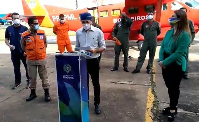 Cem mil testes para Coronavírus chegam no estado de Rondônia - vídeo