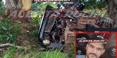 Empresário cacoalense morre em grave acidente de trânsito nessa manhã de sábado, em Ministro Andreazza