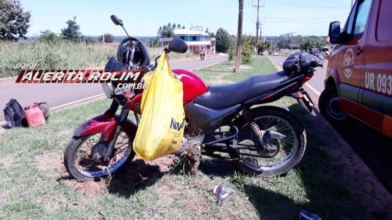 Mais um acidente que resultou em vítima é registrado nesta sexta-feira, em Rolim de Moura - Vídeo